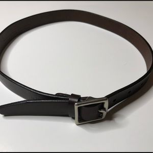 Coach Belt handcrafted in Italy Brown